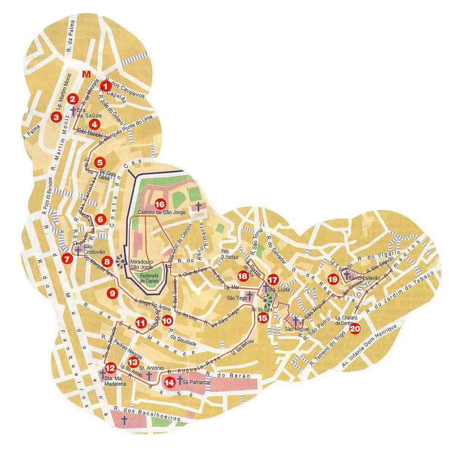 mapa mouraria lisboa alfama   Alfama   Pinterest   Portugal mapa mouraria lisboa