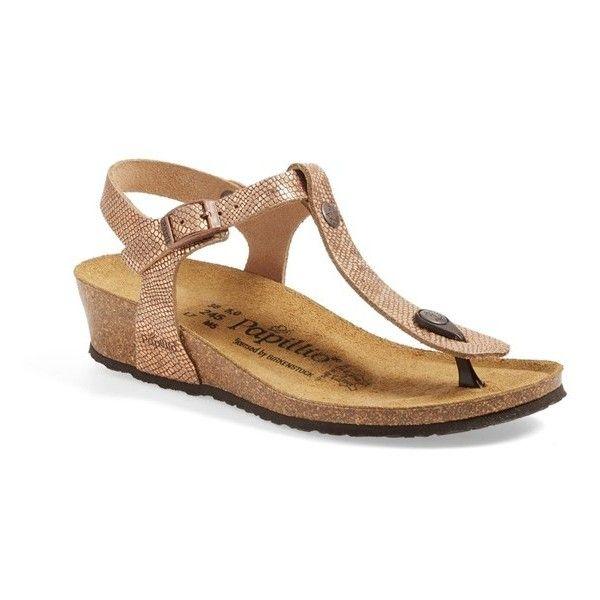 9aa85c22565 Papillio By Birkenstock  Ashley  T-Strap Wedge Sandal