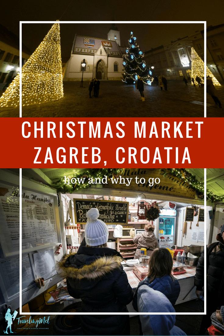 Zagreb Christmas Market Advent U Zagrebu Travelingmel Zagreb Croatia Christmas Market