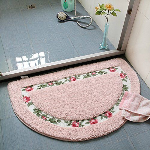 Sytian Decorative Beautiful Floral Rural Style Rose Flow Https Www Amazon Com Dp B0114ekrrg Ref Cm Sw R Pi Dp X Nvdxzbmv2 Rugs On Carpet Shower Rugs Rugs