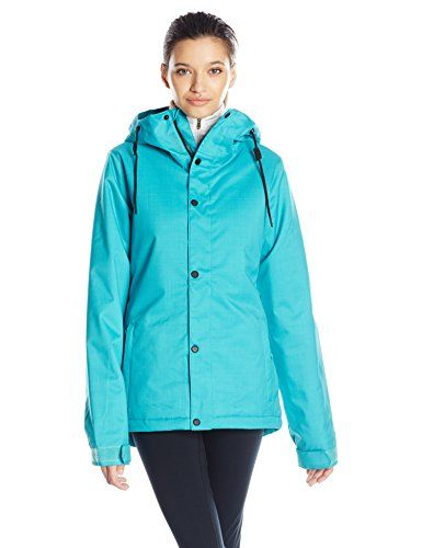 Volcom Womens Bolt Insulated Snow Jacket Teal Small     You can find more  details by visiting the image link.  WomensOutdoorClothing 0a440542b