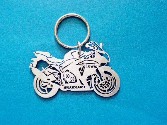 Key Chain For Suzuki Bike Bike Keychain Motorcycle Keyring