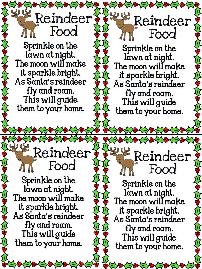 reindeer food pdf delish pinterest reindeer food pdf and food