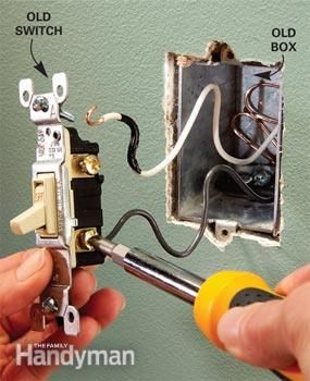 How To Install A 3 Way Switch With Images Home Electrical Wiring Installing A Light Switch Diy Electrical