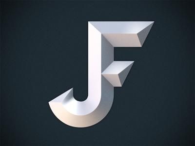 JF Monogram Art Artwork Art director Visual Graphic Composition Poster Design Inspiration  Awesome
