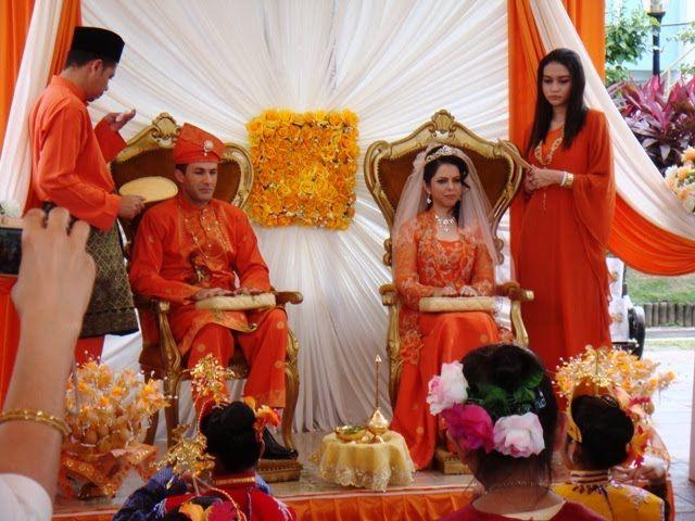 Traditional Wedding Of Malaysian People