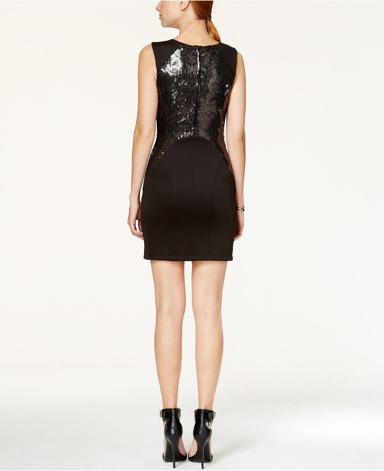 BCX Juniors\' Sequin Sheath Dress - Juniors Dresses - Macy\'s ...