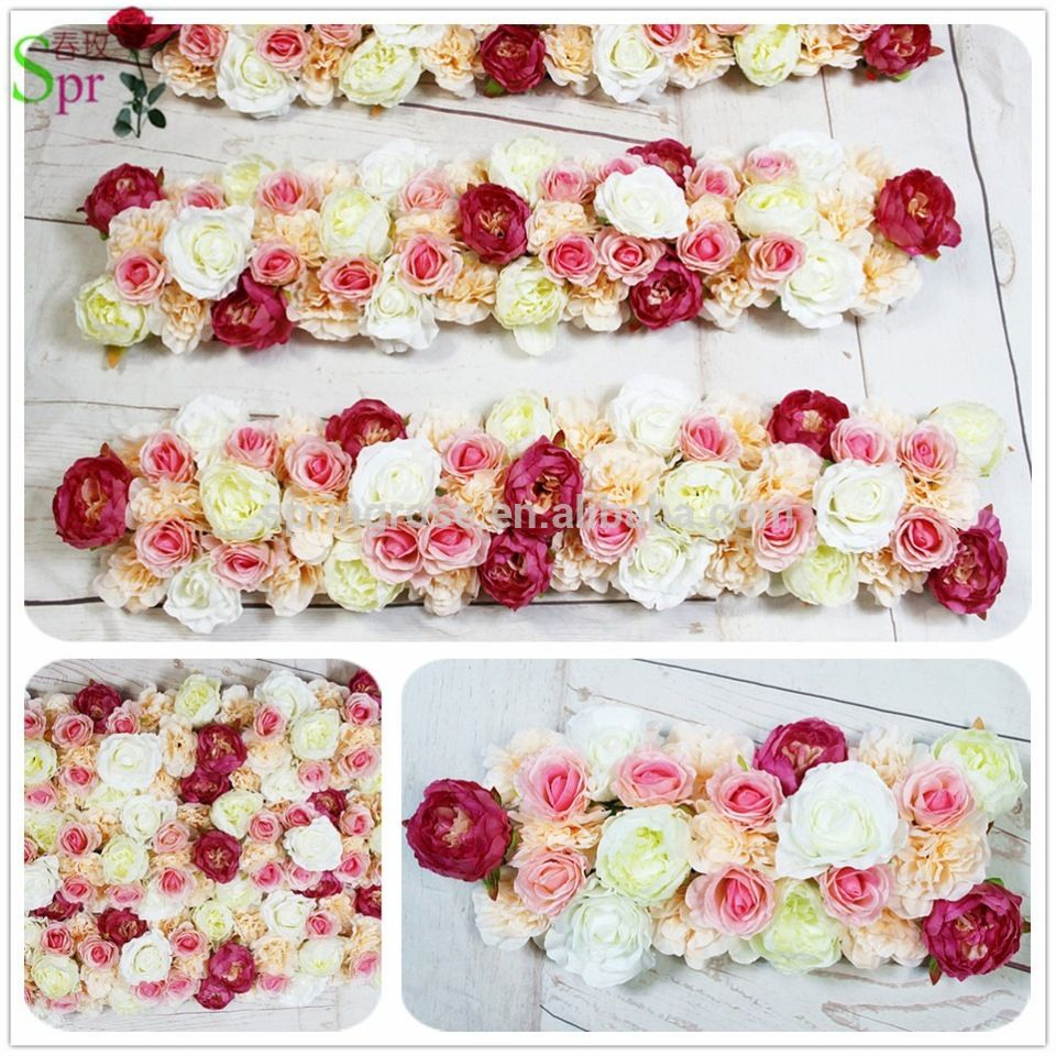 SPR Wedding Arch Flower Decoration Rose Arrangement For Party Evernt Stage And Table Backdrop Home Decorative Floral
