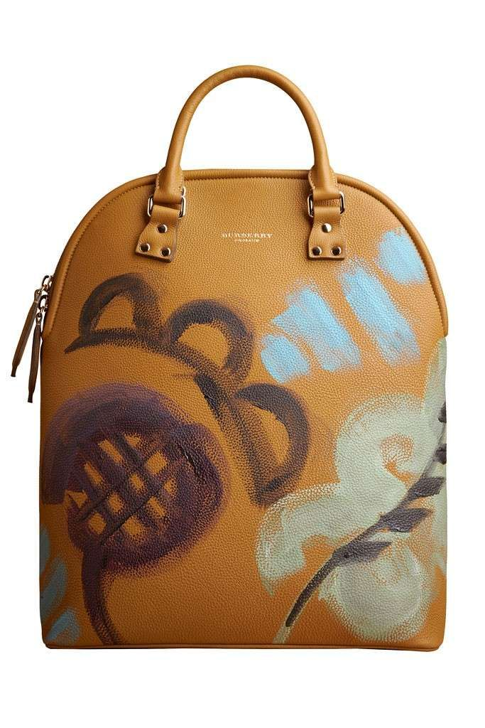 Collezione Borse Burberry Prorsum autunno inverno 2014-2015 - Handbag giallo ocra