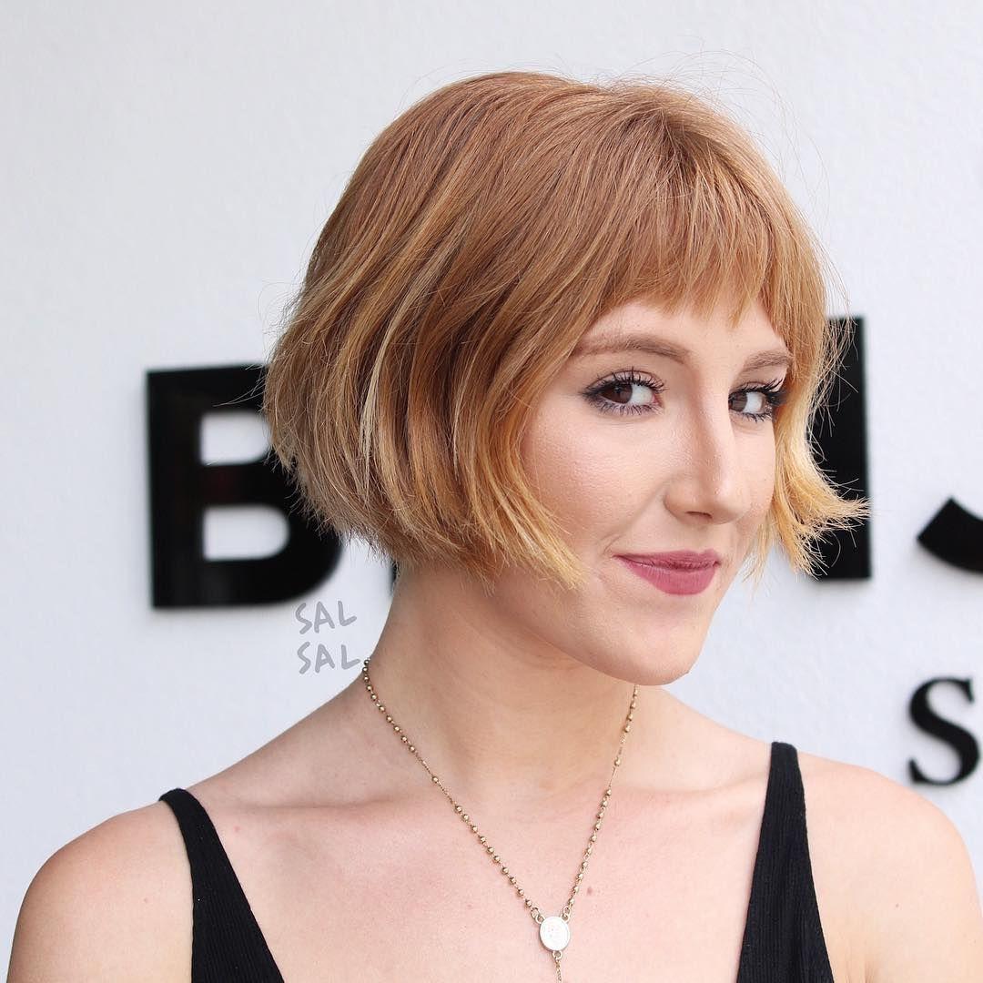 Scifi bob hair trend for fall brit co hair pinterest
