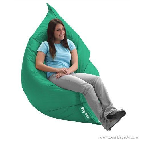 The Original Big Joe Bean Bag Chair Emerald Bean Bag Chair