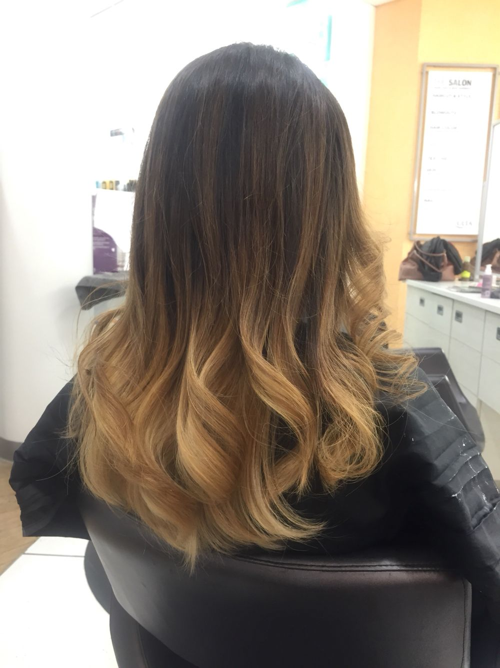 Ombre! Done at Ulta Hair Salon.  Hair, Long hair styles, Hair styles