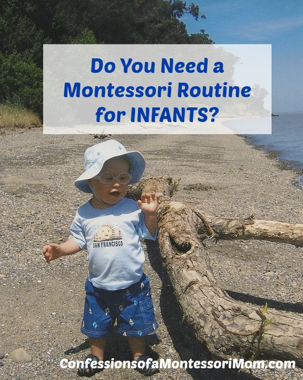 Do You Need a Montessori Routine for Infants? 0-2 years old idea..