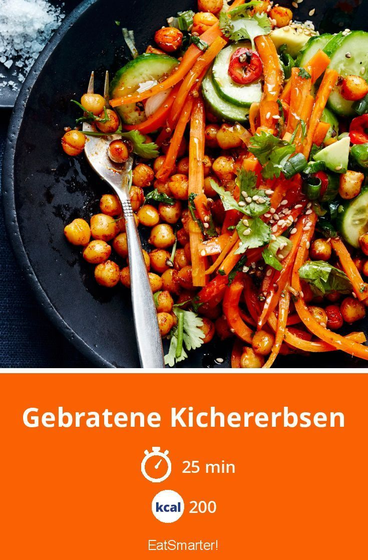 Gebratene Kichererbsen #indianfood