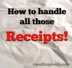 Organize Receipts!