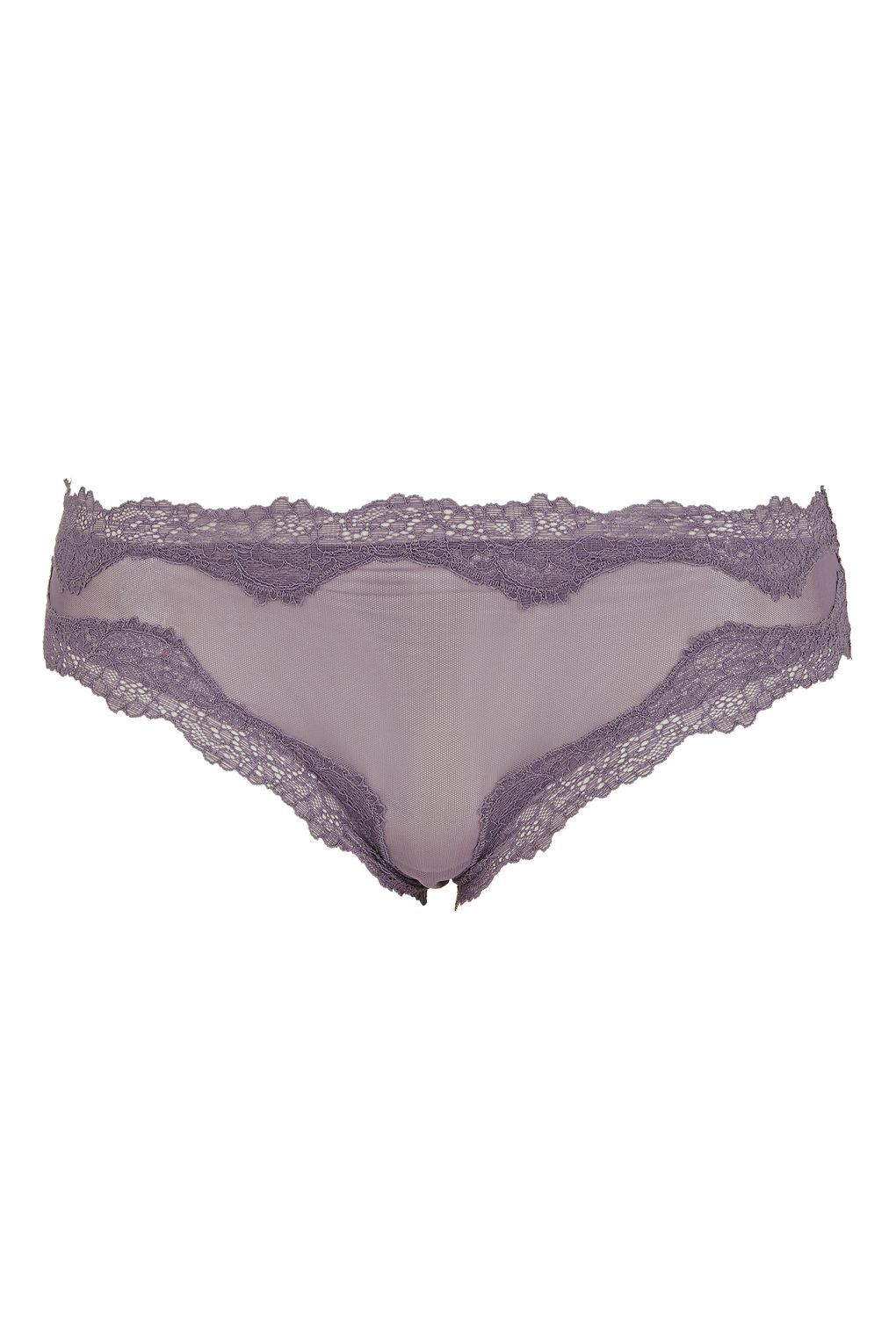 Mesh French Knickers - Lingerie - Clothing - Topshop USA