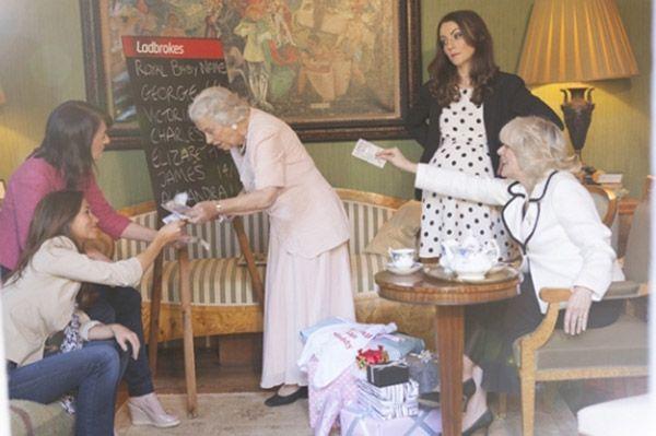 Beautiful Ladbrokes Imagines Kate Middletonu0027s Baby Shower