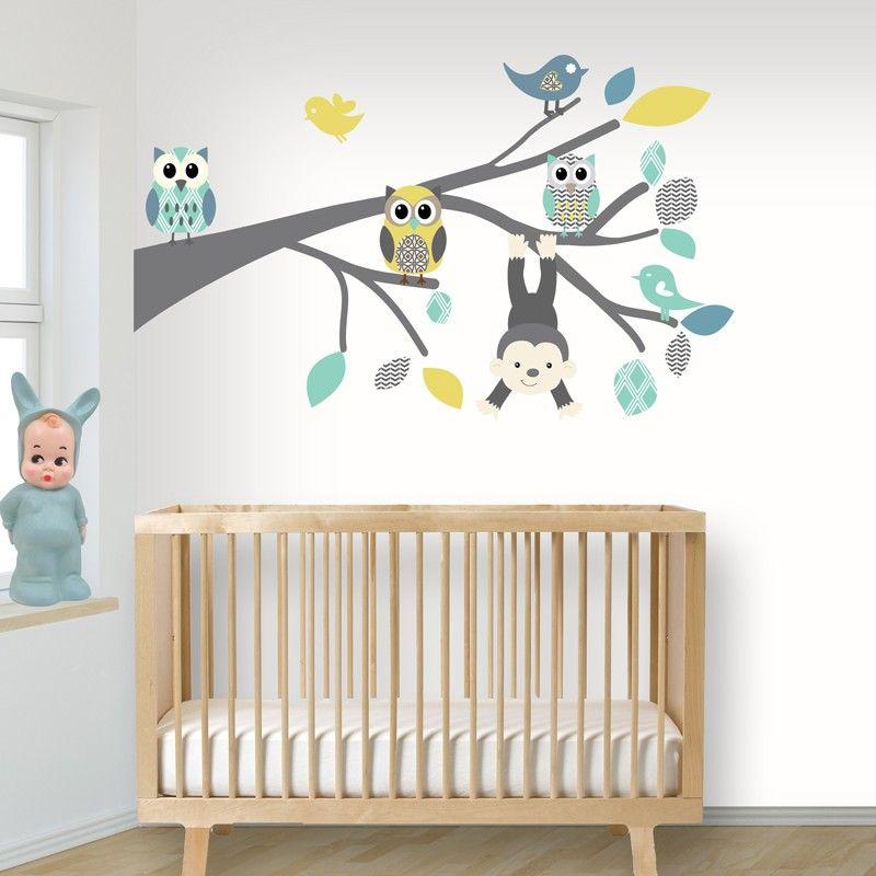 Muurstickers Babykamer Jongen.Muurstickers Babykamer Jongen 2016 Deco Chambre Bb Baby Bedroom