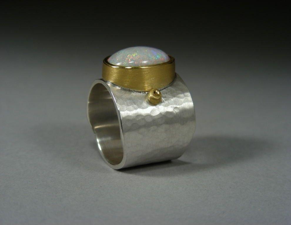 Opal Ring | Fine Metal Smith