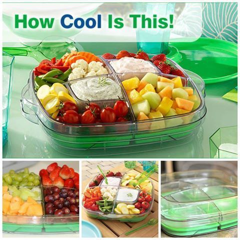 Pampered Chef Cool Serve Tray Everyone Should Have One Of These