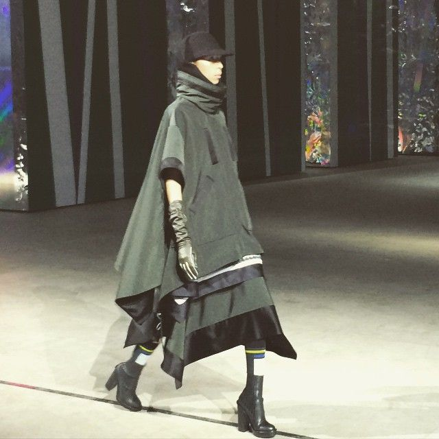 """""""First look @kenzo #pfw"""""""