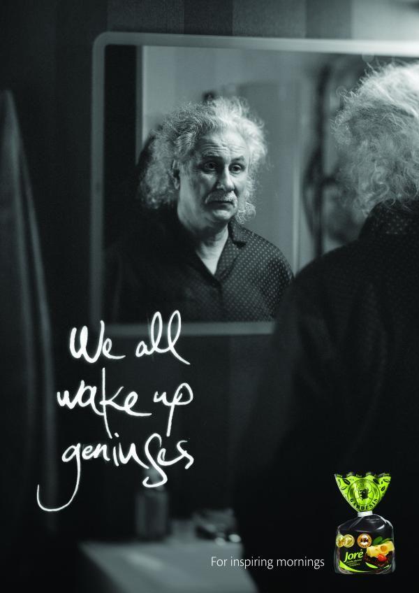Einstein, MILK Vilnius, JORE, Print, Outdoor, Ads