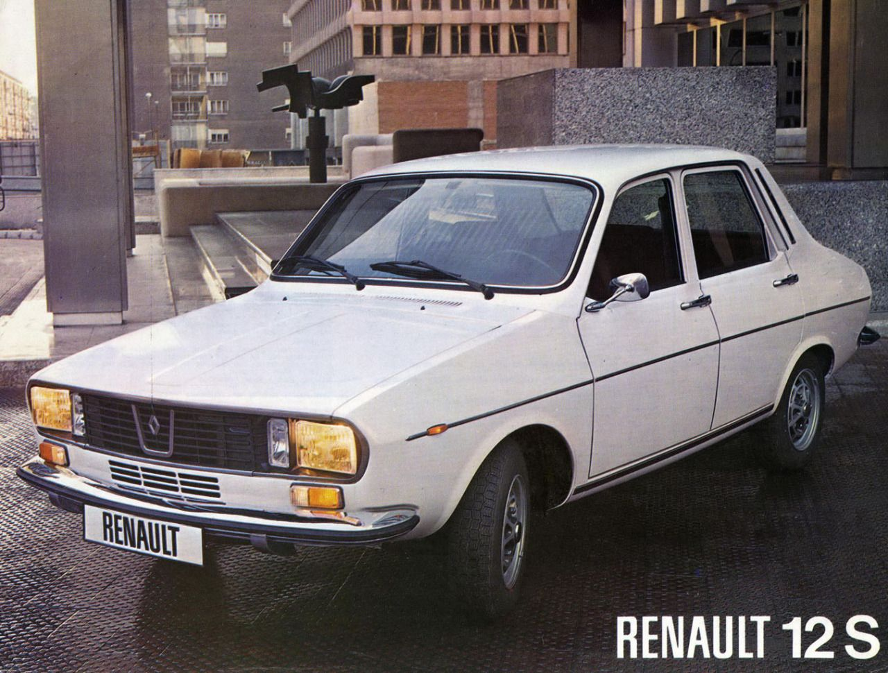 1975 Renault 12 spanish sales brochure