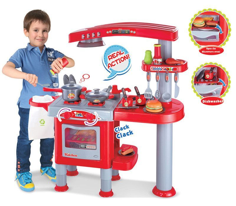 Berry Toys Br008 83 My First Play Kitchen Red
