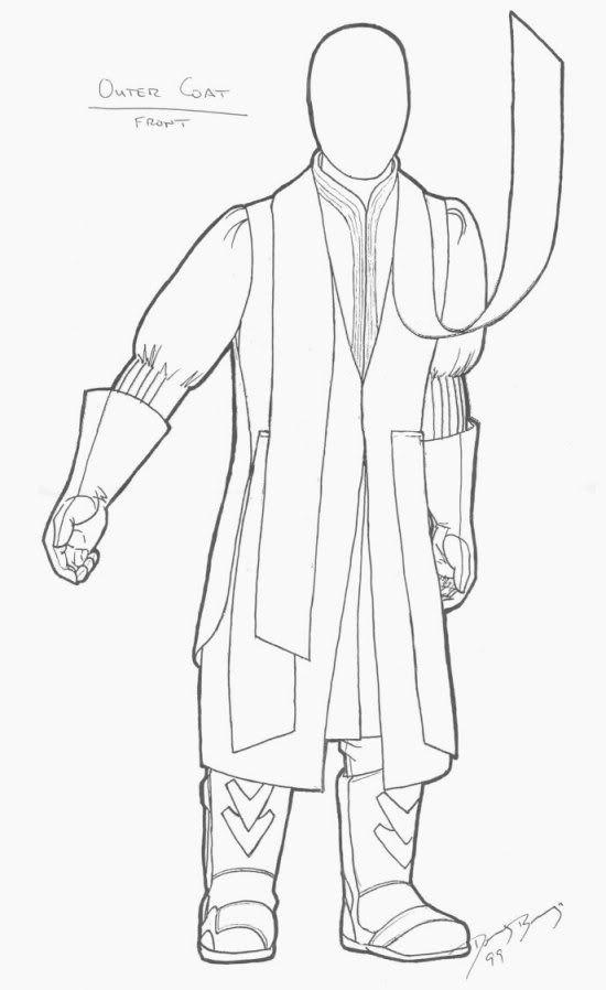 Darth Maul- Outer Coat
