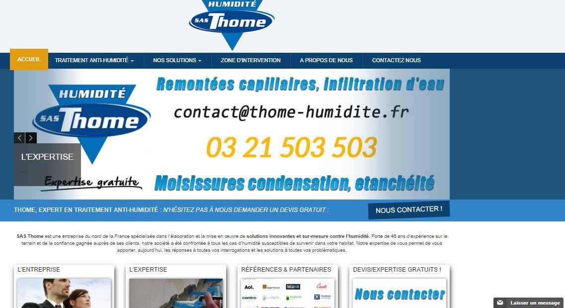 La Sas Thome Propose Des Services Pour Traiter LHumidit  La