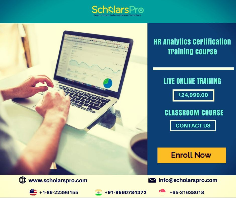 Our Hr Analytics Certification Training Course Will Empower You To