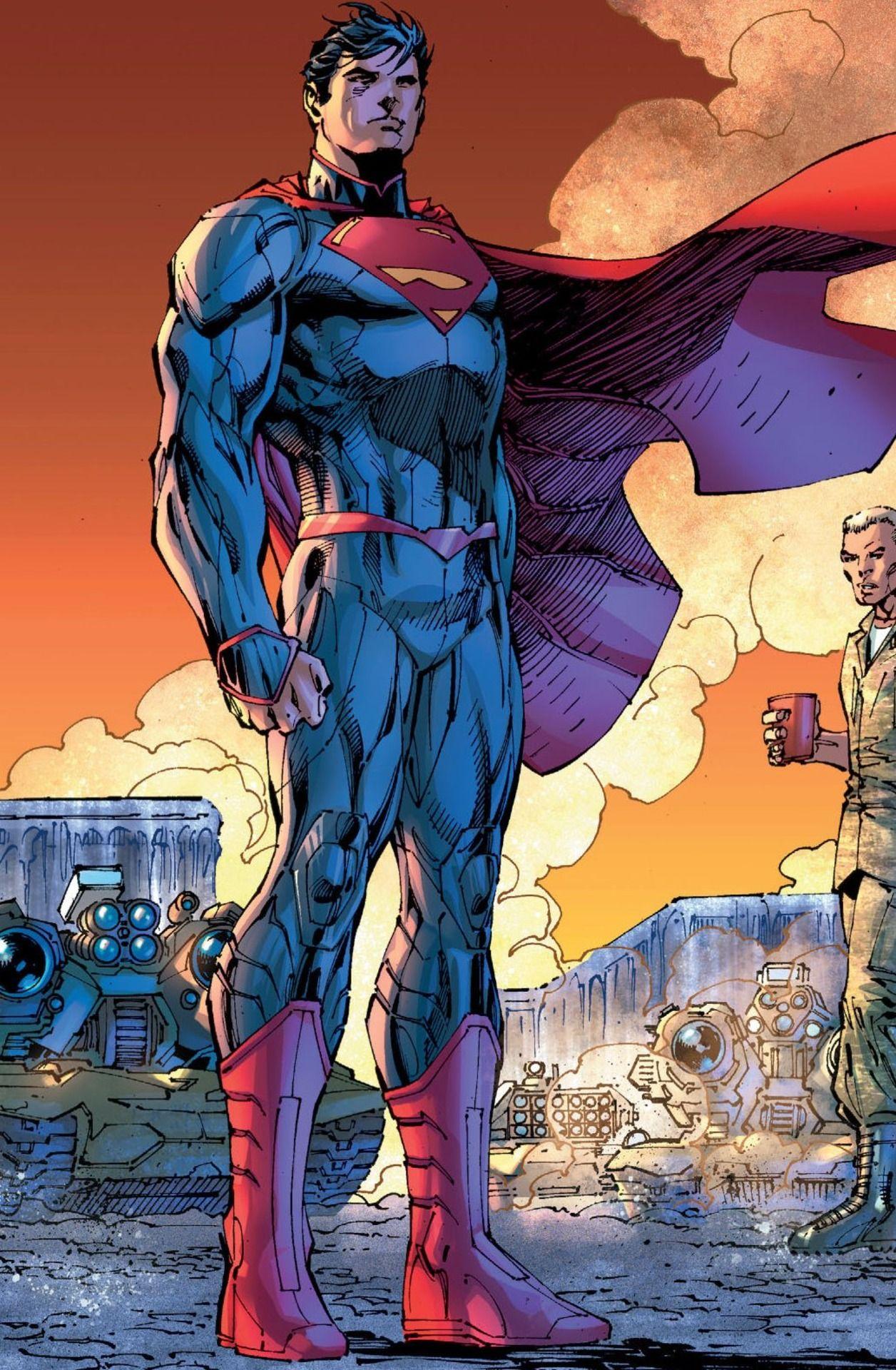 #Superman #Fan #Art. (Superman Unchained) By: Jim Lee.