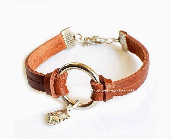 Jewelry bangle buckle bracelet leather by jewelrybraceletcuff, $8.00
