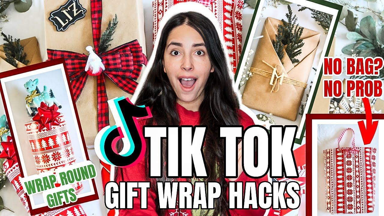 Amazing Tik Tok Gift Wrapping Hacks You Have To See Youtube Beautiful Gift Wrapping Gift Wrapping Wrapping Paper Crafts