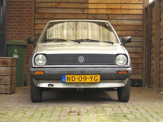 1985 Volkswagen Polo 1.3 C by rvandermaar, via Flickr