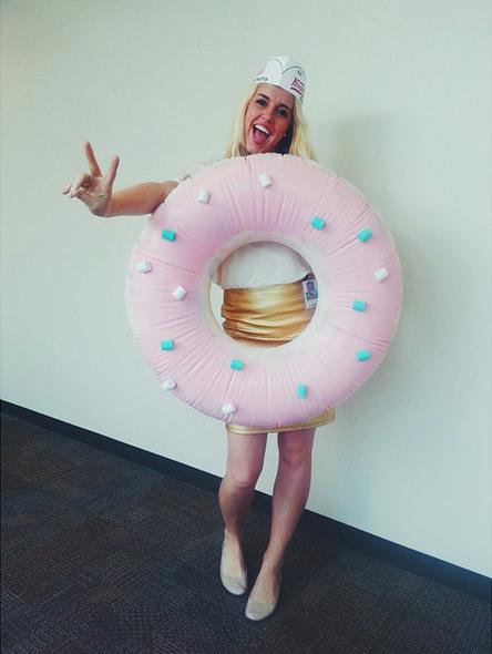 DIY Donut Costume #halloween