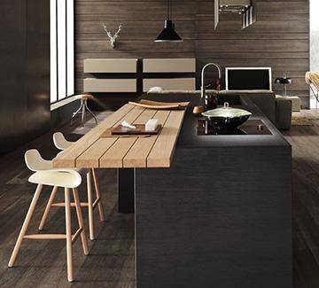 Design di cucine bagni e soggiorni moderni modulnova for Piccoli soggiorni moderni