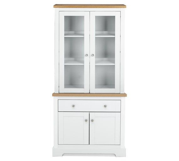 Buy Heart Of House Westbury Display Unit With Lights   White At Argos.co.