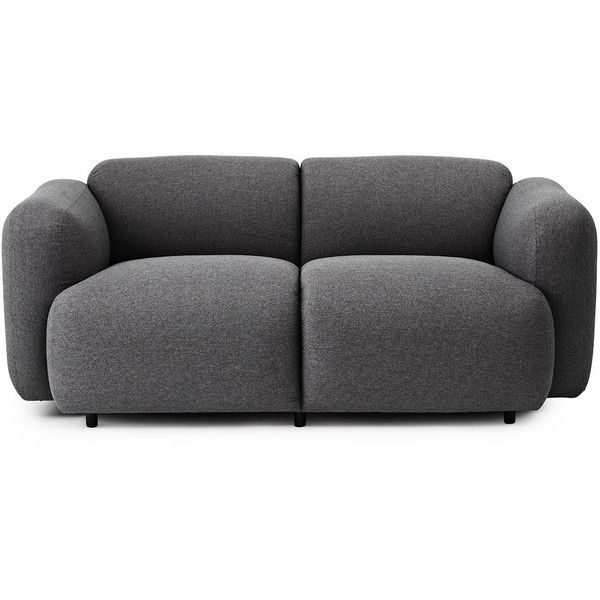 Normann Copenhagen Swell Sofa 2 Seater ($3,180) ❤ liked on Polyvore