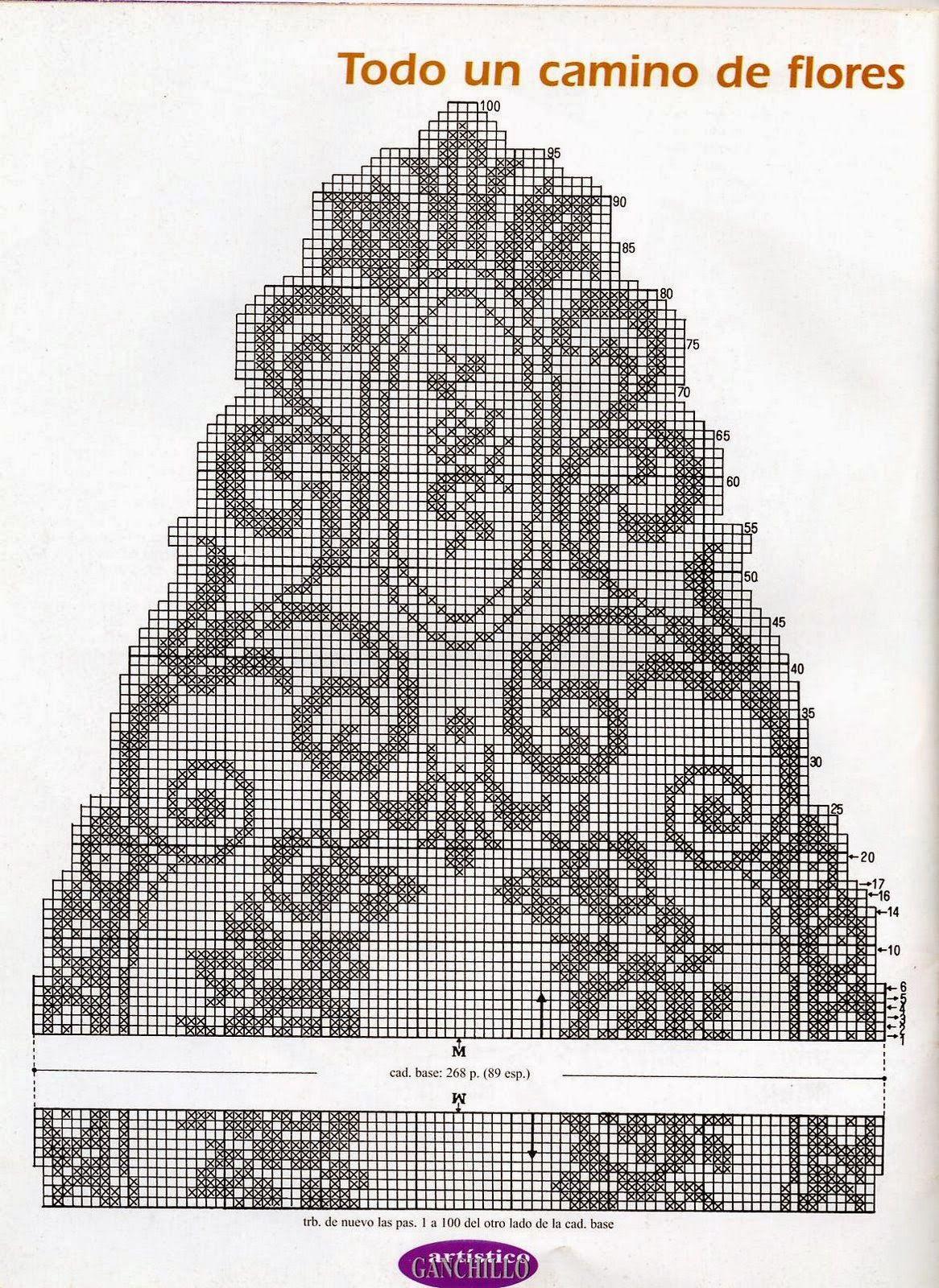 Kira Crochet Scheme No 183 Filet Oval Doilies Doily Diagram Pinterest