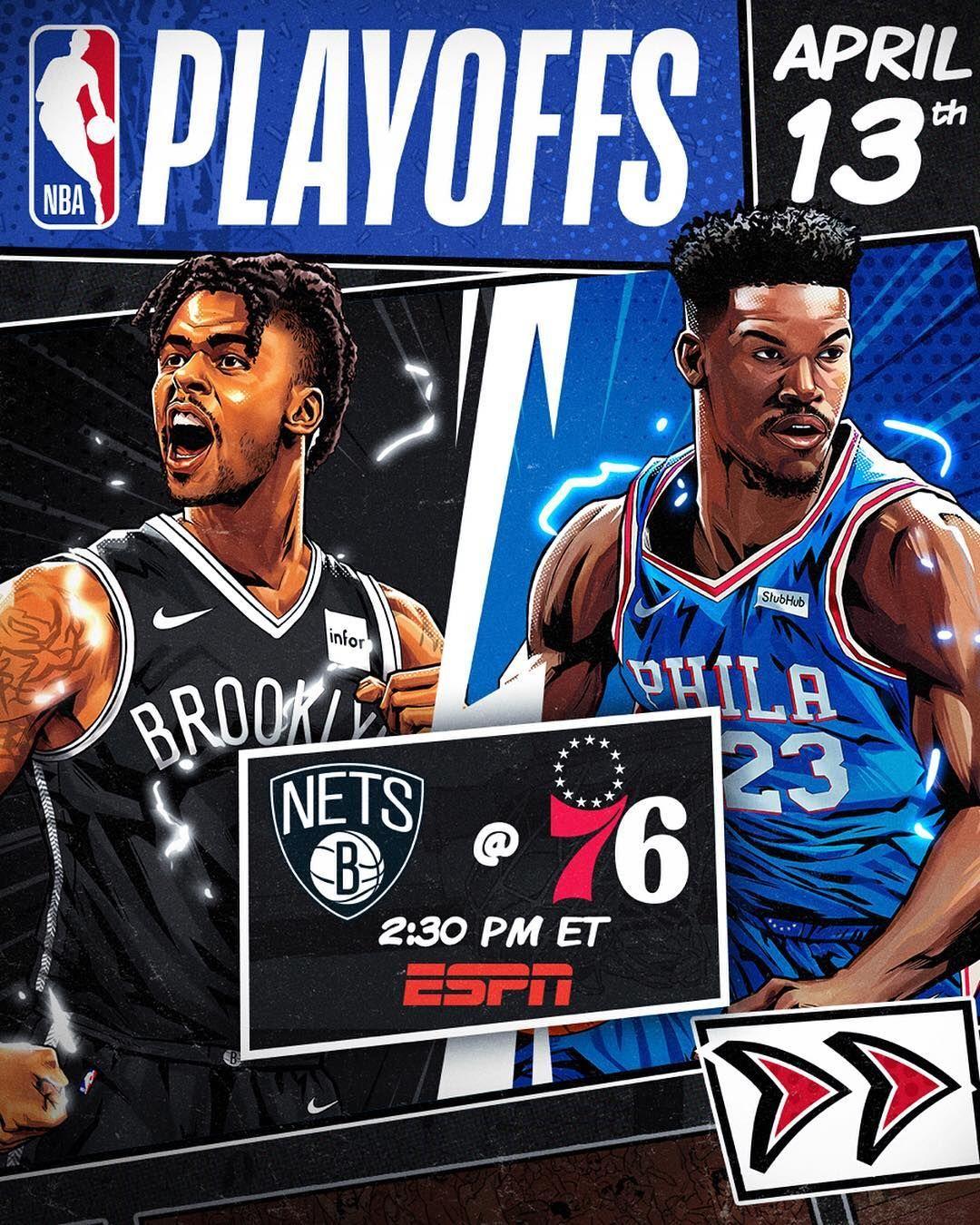 Nba The Nbaplayoffs Story Begins Today On Espn Abc Basketball Big4 Bigfour Big4 Bigfour Nba Basketball Players Nba Sport Poster Design