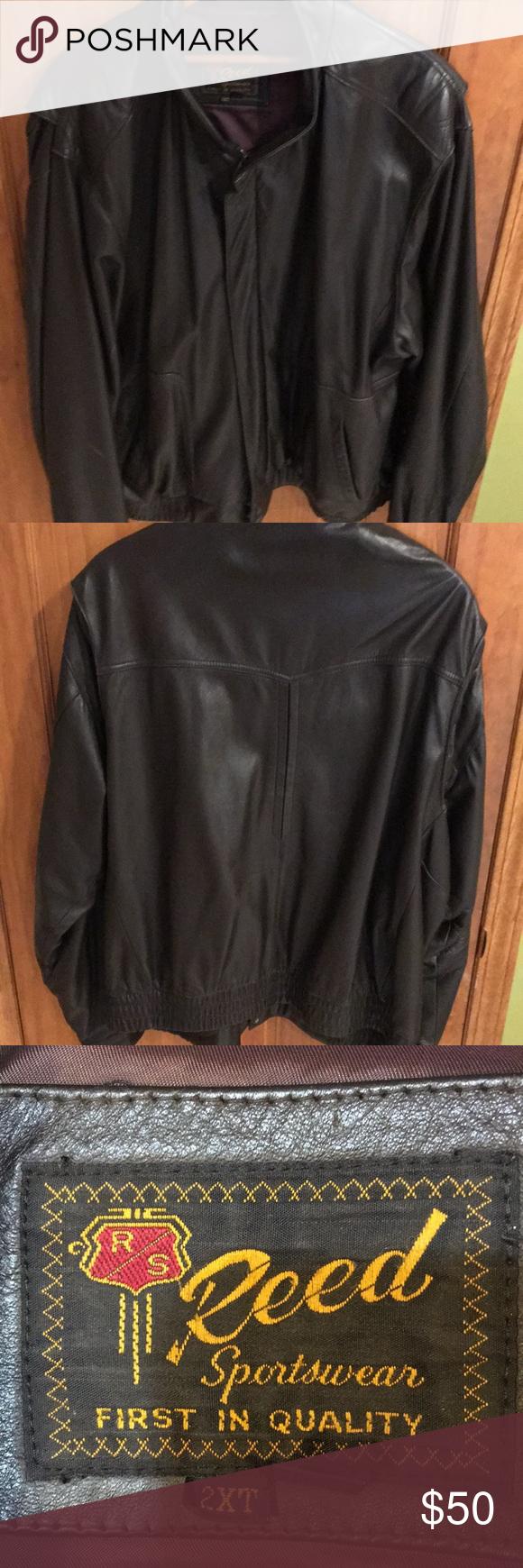 Men S Leather Jacket 2xl Dark Brown Leather Jacket Genuine Leather Jackets Men S Leather Jacket [ 1740 x 580 Pixel ]