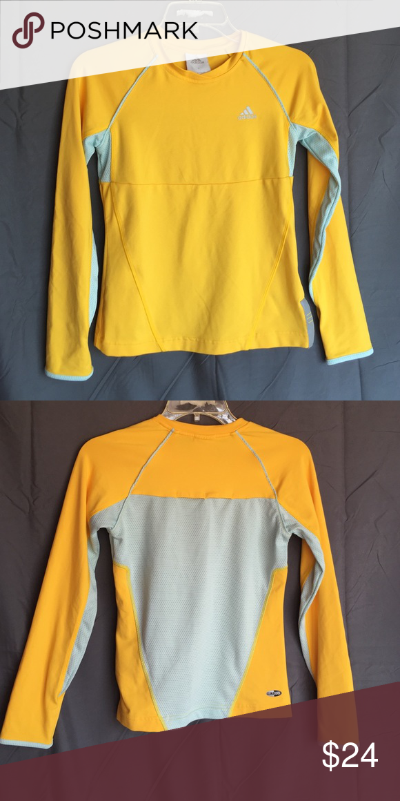 Adidas Women's ClimaCool Long Sleeve Size small! Worn once! In excellent condition! adidas Tops Tees - Long Sleeve
