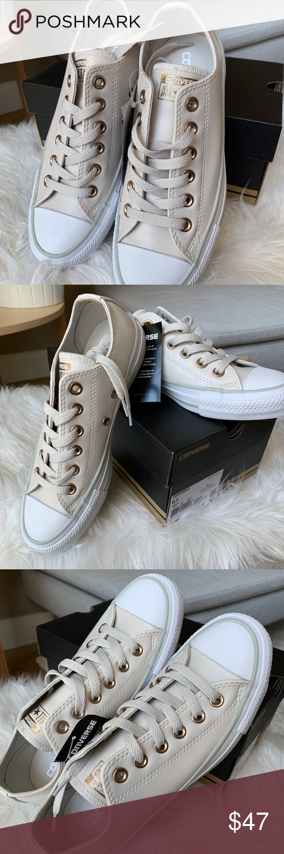 27b06c89147e Converse Chuck Taylor All Star Craft Low Top 6.5 BRAND NEW Converse Chuck  Taylor All Star Craft SL Low Top Sneaker Size 6.5 Women s Color  Pale ...