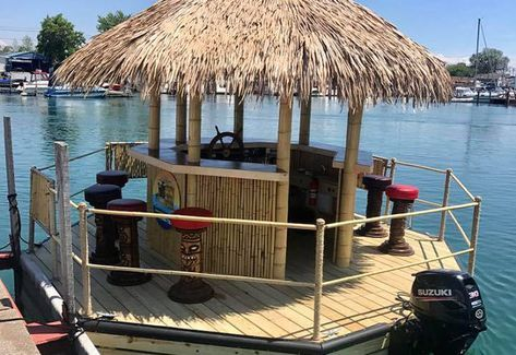 Image result for floating tiki bar for sale | Patio swing ...