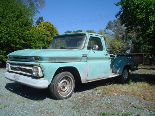 1965 Chevrolet C-10  1965 chevy truck c10 long bed step side 64 66