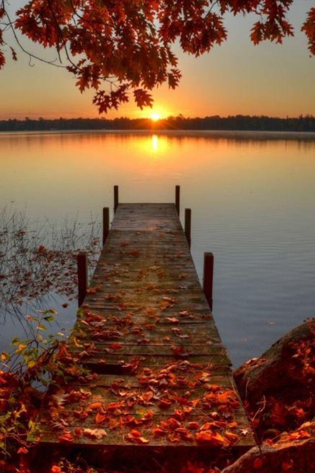 Autumn Sunset Kurikka Finland September Wallpaper Fall Wallpaper Hello September