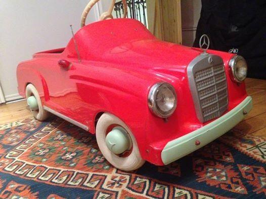 mercedes benz 190 voitures p dales pedal cars pedal cars cars retro cars. Black Bedroom Furniture Sets. Home Design Ideas