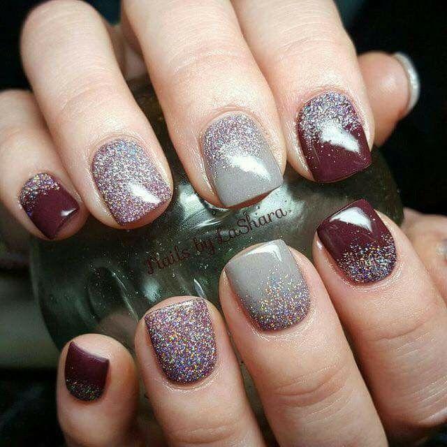 Pin de Blanch en Uñas   Pinterest   Arte de uñas, Manicuras y Uña ...