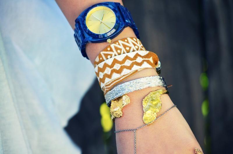 DIY Jewelry DIY tribal print wrap bracelet